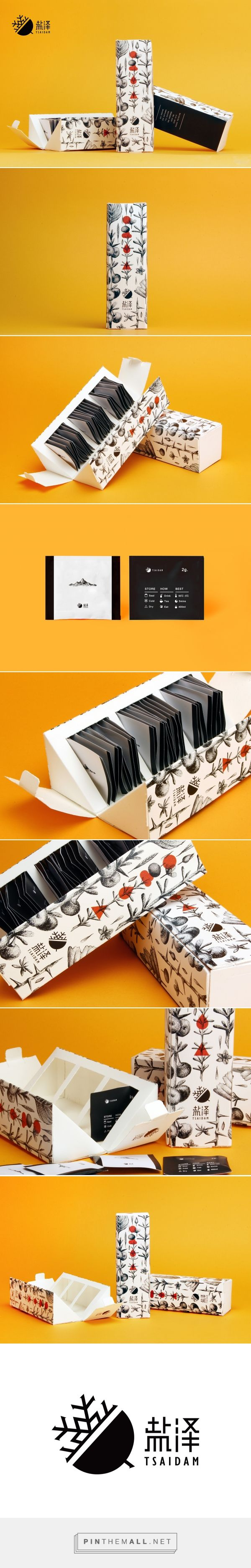 Tsaidam packaging design for a kind of special Chinese dry fruit by Yu-Heng Lin