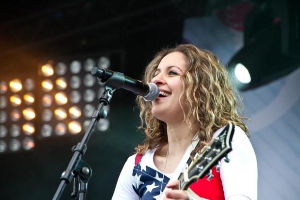 Het vrijheidsfestival op het Chasséveld met Key Leigh Leith