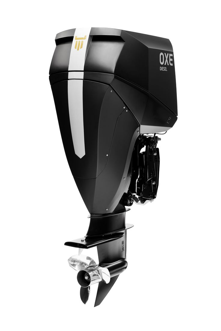 OXE Diesel -  The world's first high performance diesel outboard engine.