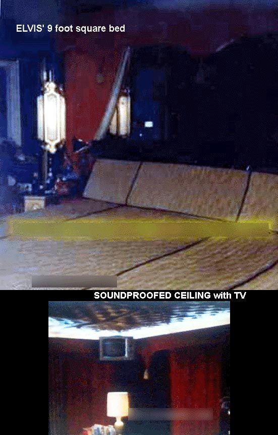 Upstairs At Graceland Pictures Elvis Bedroom Elvis
