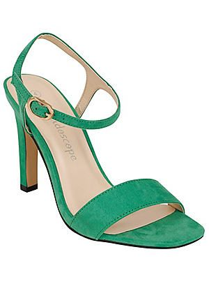 Square Toe Strappy Sandals  #Kaleidoscope #holiday #jetsetting
