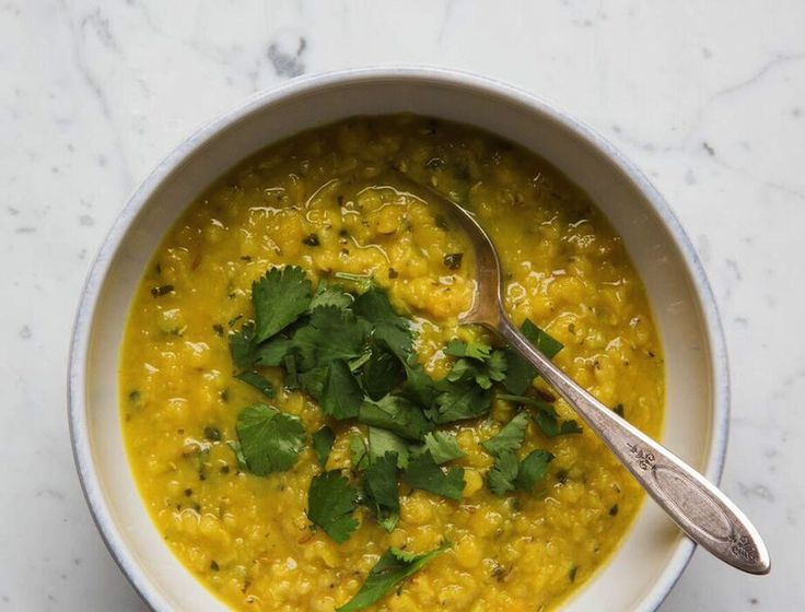 This is Surya Spa's everyday Mung Bean Dal—high in protein, low in calories, and particularly easy to digest and absorb, it makes a perfect detox meal.