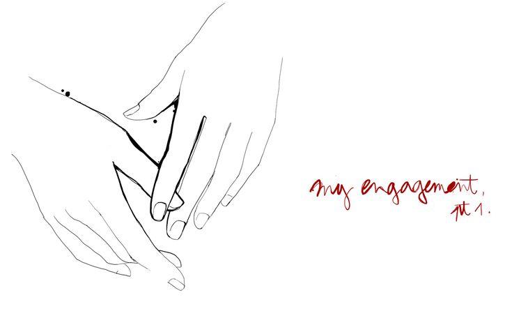my engagement part 1 hands garance dore illustration