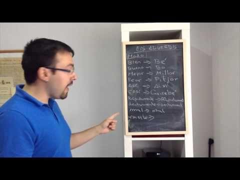 Catalán IX - Adverbios de Modo, Lugar y Cantidad - YouTube