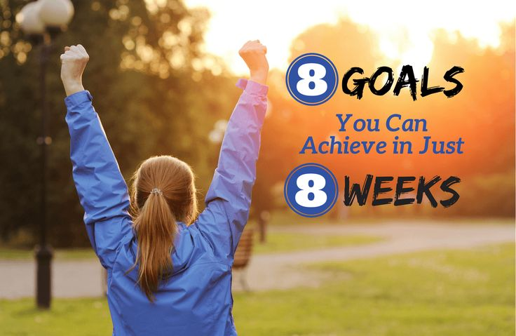 Who's giving up on your goals right now? Not you! Recommit yourself to your goals by taking an 8-week pledge today!
