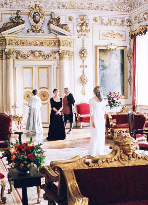 Pemberley's drawing room (Wilton House, Wilton, Salisbury, Wiltshire, England, UK) - Pride & Prejudice (2005) #janeausten #joewright