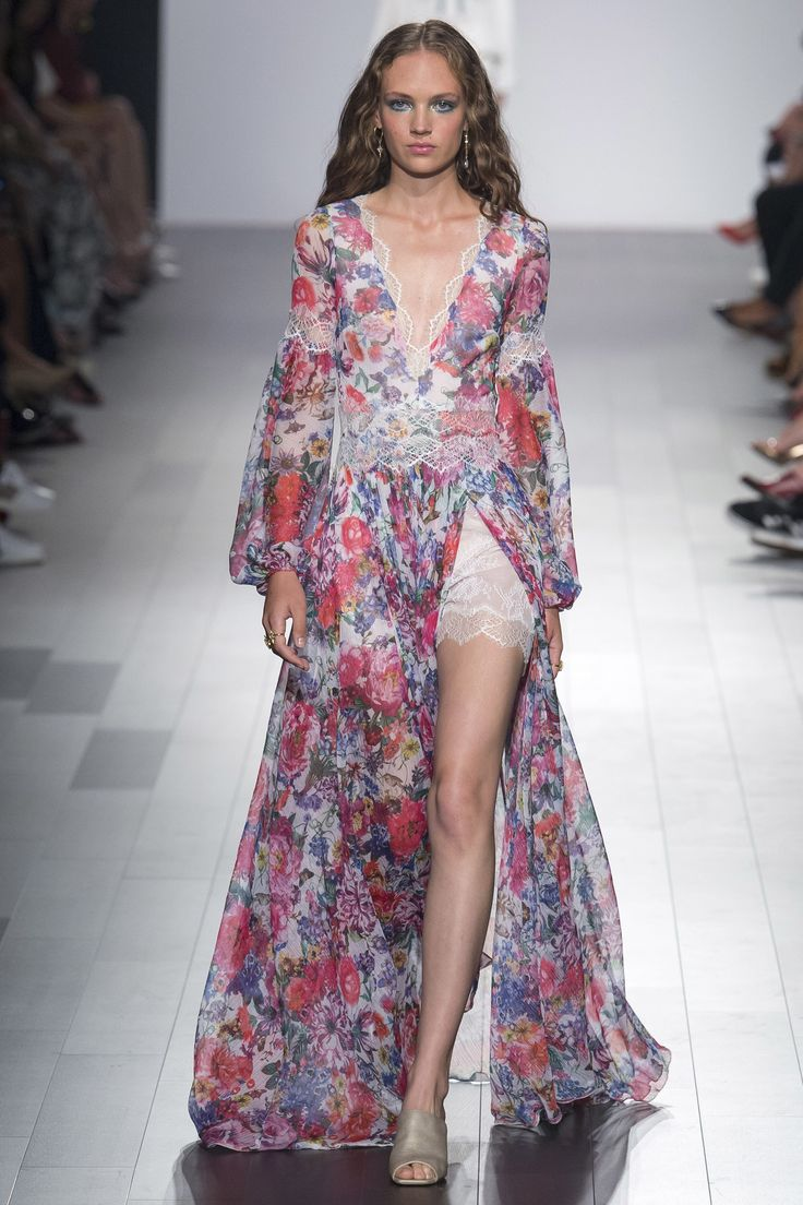 High fashion dress design 2018 casual