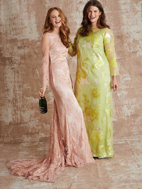 Pattern | Long Sleeve Gown