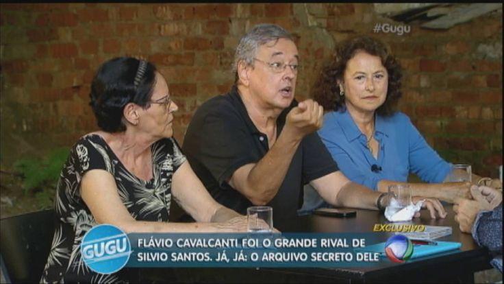 Filhos de Flávio Cavalcanti falam sobre rivalidade do pai com Silvio Santos