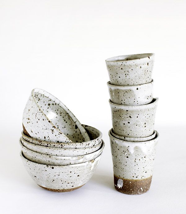 Handcrafted ceramics by Andrew Davidoff. Photo - Clare Plueckhahn.