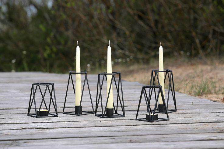 PRUT metal candle holders, summer session, Jurmala