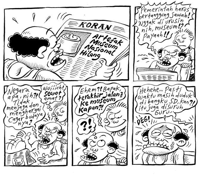 Mice Cartoon, Kompas 16 September 2013: Museum