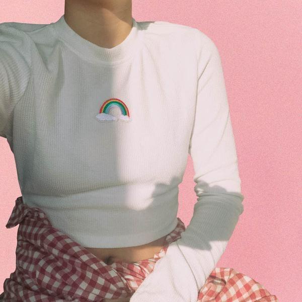 Rainbow Long Sleeve Top