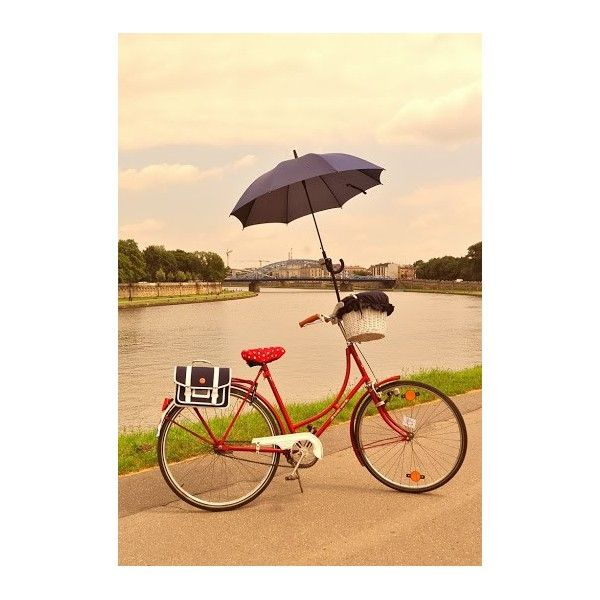 LOL. Umbrella holder for bicycle