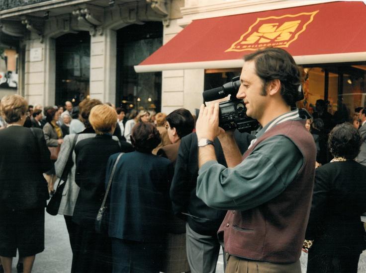 Inauguració de la botiga de Passeig de Gràcia, 1997