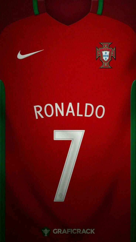 5ecf2cb01d5 Portugal 16-17 kit home Cristiano Ronaldo  7