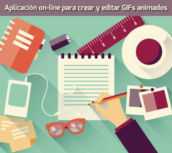 GIFMaker es una aplicación on-line con 5 herramientas para crear y editar imágenes en formato GIF animado. #recursosgraficos