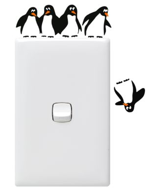 5  Penguin Switch Sitters (PowerPoint Not Included)