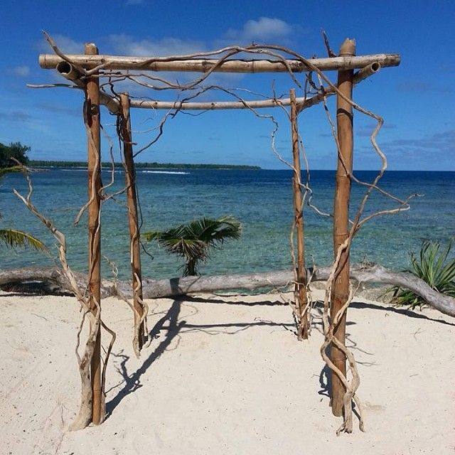 Driftwood Arbour #vanuatu #vanuatuwedding #islandwedding #beachwedding #portvila #love #evrisamting #destinationwedding