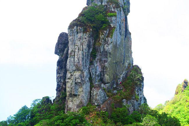 Cross Island Track Rarotonga Cook Islands the needle