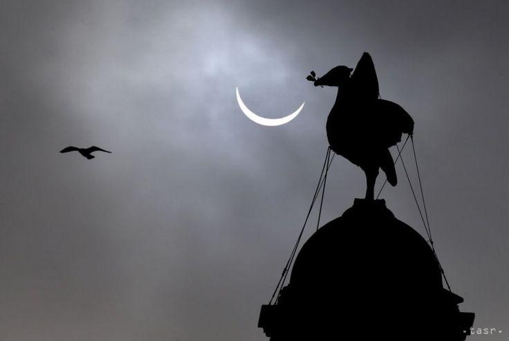 Obrazom: Svet nadchlo zatmenie Slnka. Pozrite si najlepšie fotografie   Dobré noviny on We Heart It