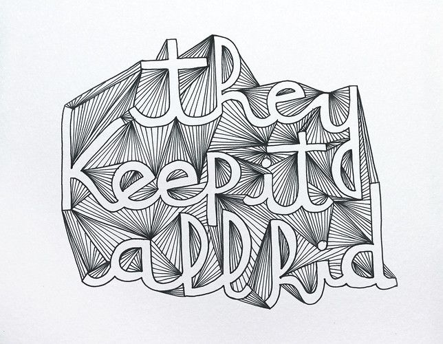 10 | Bob Dylan's Genius Inspires A Sprawling Experiment In Hand-Drawn Type | Co.Design: #Typography #Handdrawn