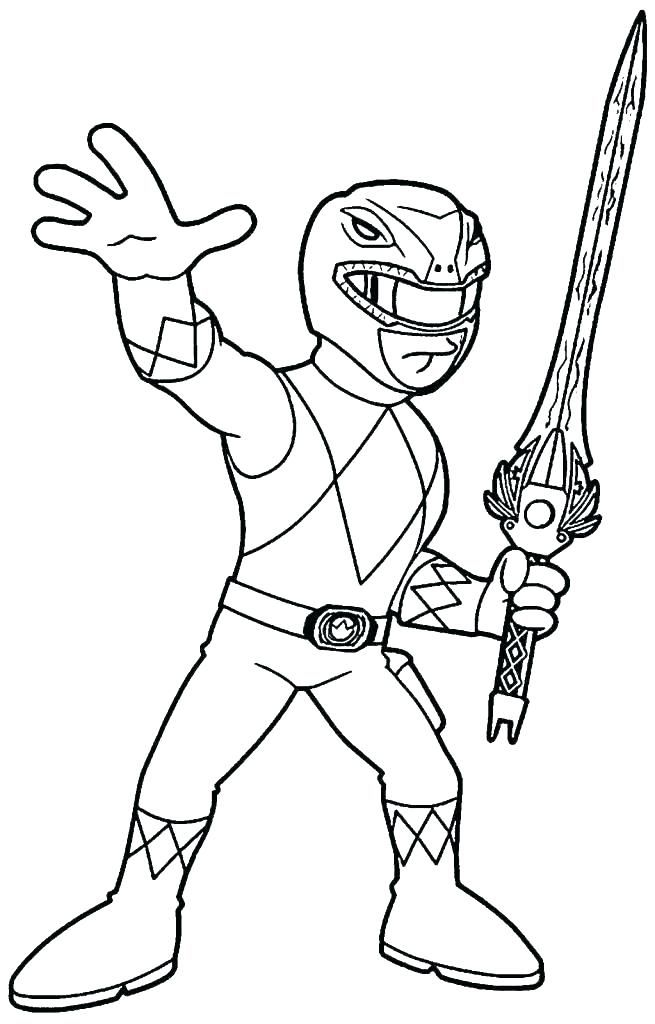 storm coloring pages power rangers