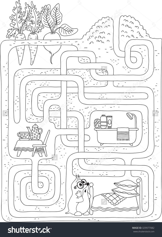 Labyrinth- Maze Level 2