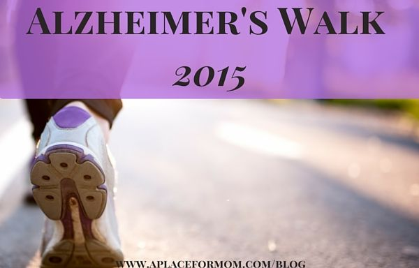 An Alzheimer's Association National Member, A Place for Mom raised $62,000 at the Alzheimer's Walk 2015. Learn more about our experience.