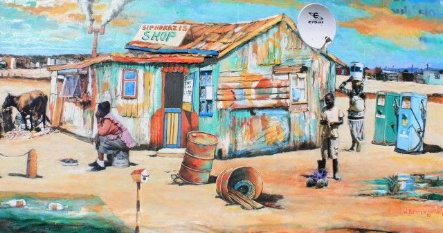Township life 2 | Willie Bester