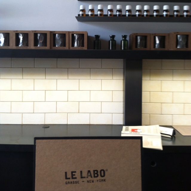 Le Labo: Perfume bar