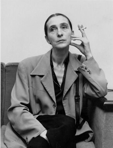 German performer of modern dance, choreographer, dance teacher and ballet director Pina Bausch (1940-2009)