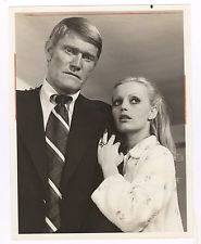Chuck Connors Alexandra Hay in Police Story 7x9 TV photo 1975