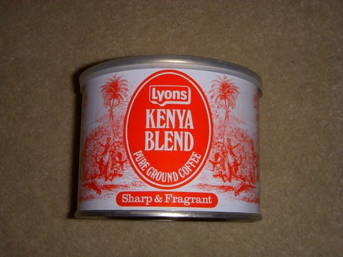 Lyons Kenya Blend Coffee 1970s