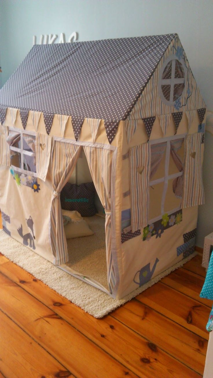 Unsere KreativWerkstatt: Stoffhaus - Made by Mama