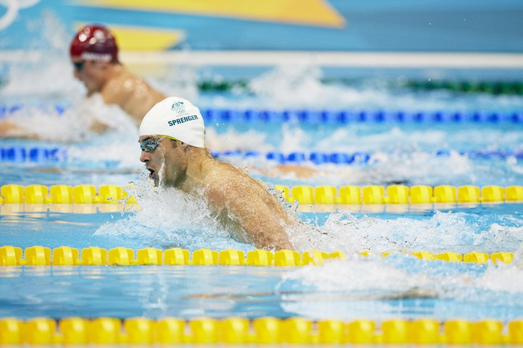 London 2012: Swimmers have the best action shots!