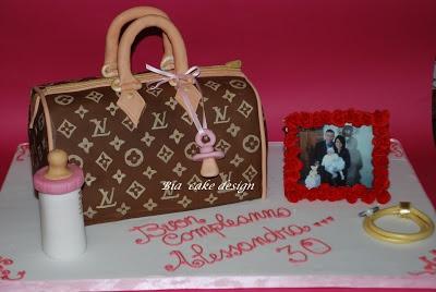 le torte di Bia: louis vuitton cake per Alessandra