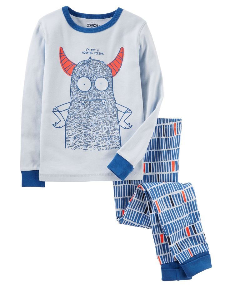 Kid Boy 2-Piece Snug Fit Cotton PJs | OshKosh.com