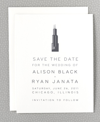 chicago save the date