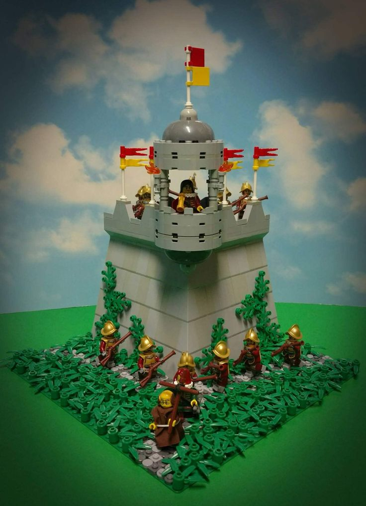 https://flic.kr/p/U6jEwZ | Spanish Colonial Outpost | To maintain its imperial power around the world, Spain built fortifications across the continents. These outposts were established along Spanish borders from the late sixteenth century onwards to defend its interests against rival European powers and to suppress uprisings of the native population.  The iconic lookout tower has been used throughout the fortifications built by the Spaniards.
