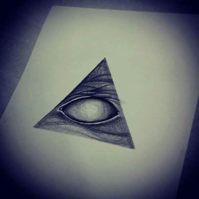 Flash eye tattoo