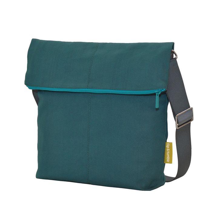 modern teal purse