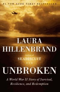 Unbroken -  A biography of Olympic runner and World War II bombardier, Louis Zamperini, who had been rambunctious in childhood before succeeding in track and eventually serving in the military, which led to a trial in which he was forced to find a way to survive in the open ocean after being shot down.