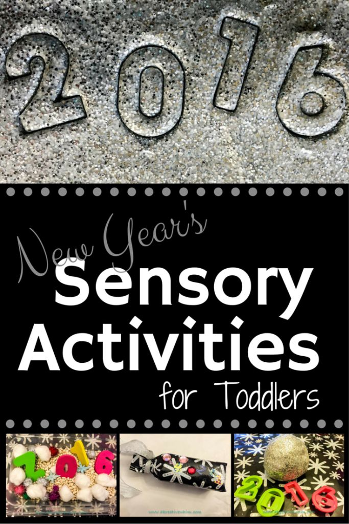 New Year Sensory Activities for Toddlers- A Kreative Whim