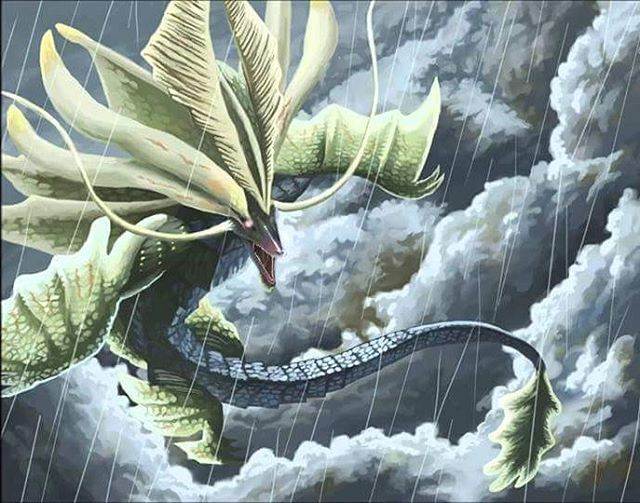 God of the storms Amatsu