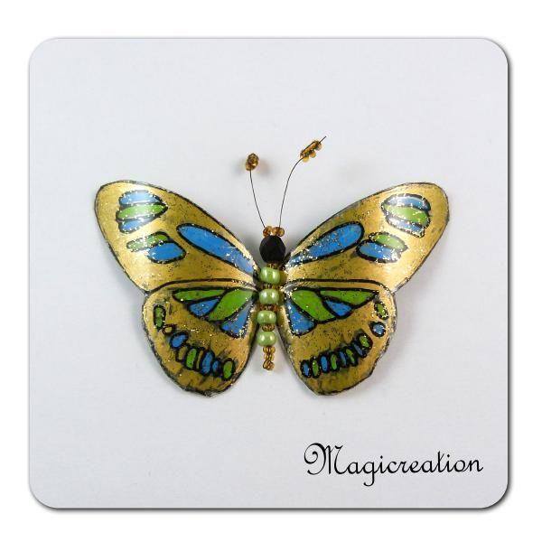MAGNET PAPILLON ISIS - Boutique www.magicreation.fr