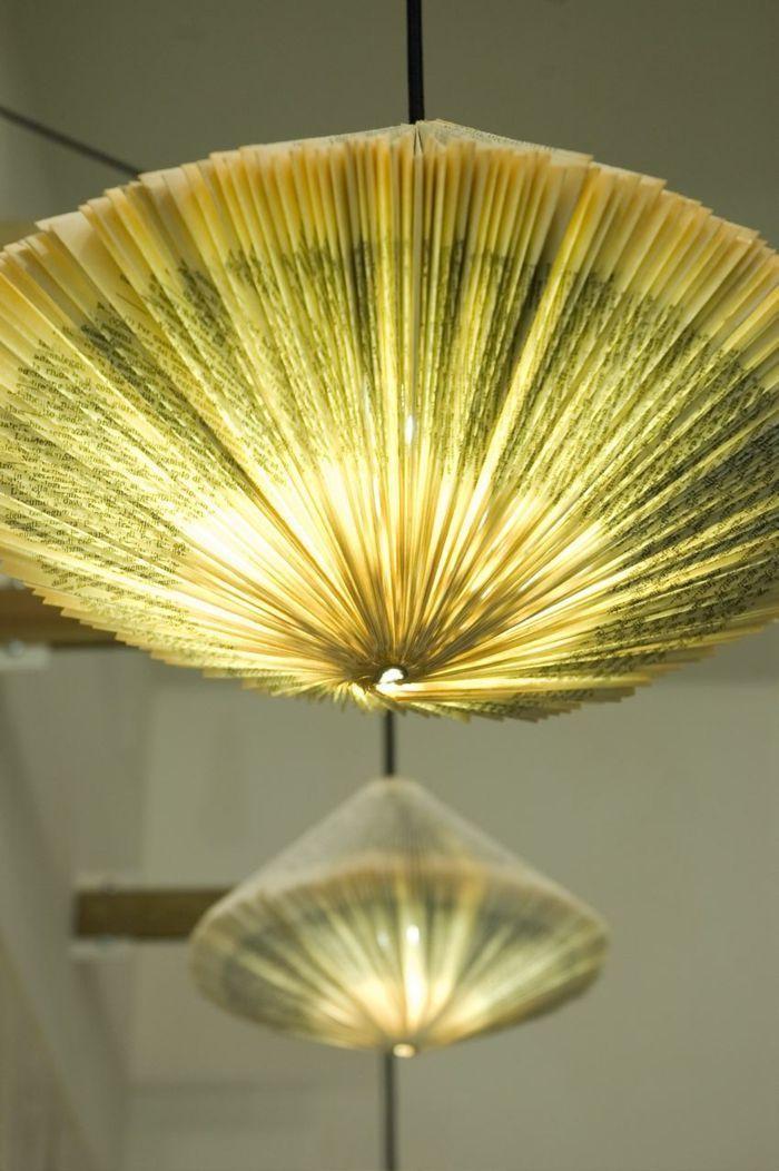 Lampe Basteln Diy Leuchten Lampenschirm Selber Machen