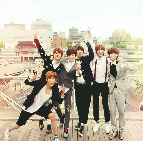 Group picture!! Boyfriend kpop boyband