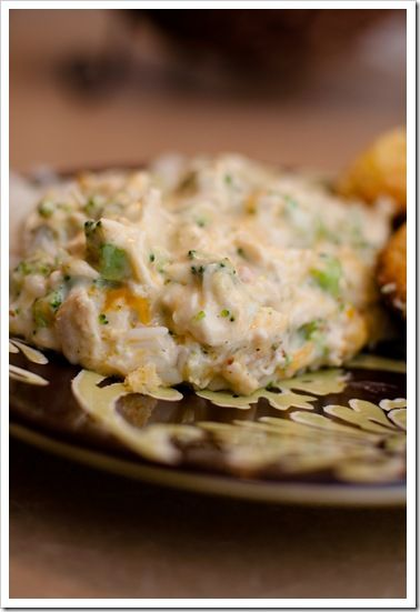 Creamy Chicken  Broccoli Casserole 3 Chicken Breasts -3505