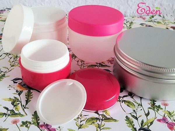 Contenitori vuoti per creme e cosmetici - Cosmetici fai da te - Spignatto - DIY